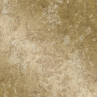 Distressed Gold Leaf Peel and Stick Wallpaper