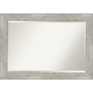 Dove Greywash Bathroom Vanity Wall Mirror