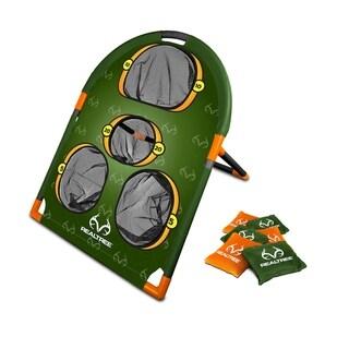 NKOK RealTree Games Bean Bags Toss Game Set