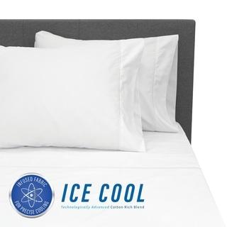 SensorPEDIC Ice Cool 400 Thread Count Bed Sheet Set