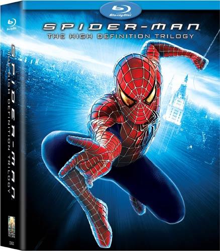 Spider-Man - The High Definition Trilogy (Spider-Man / Spider-Man 2 / Spider-Man 3) (Blu-ray Disc)