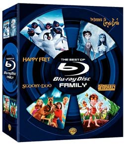 The Best of Blu-ray - Family Boxed Set (Blu-ray Disc)