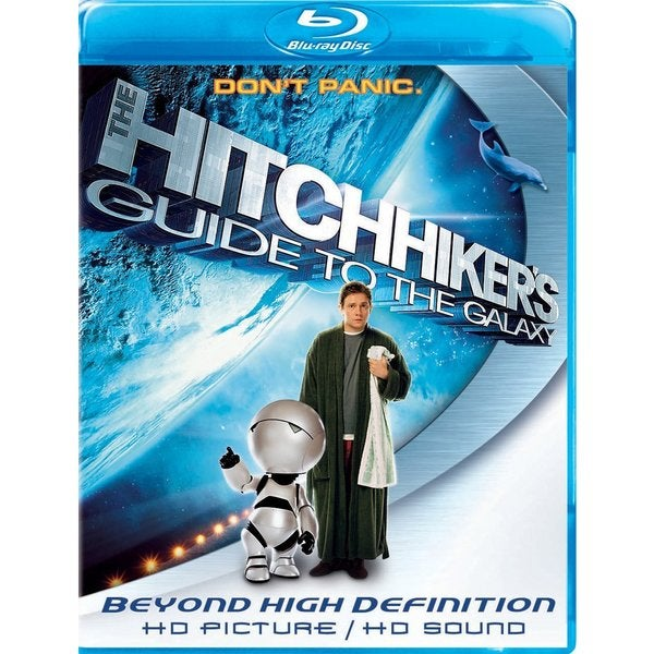 The Hitchhiker's Guide to the Galaxy (Blu-ray Disc) 3385306