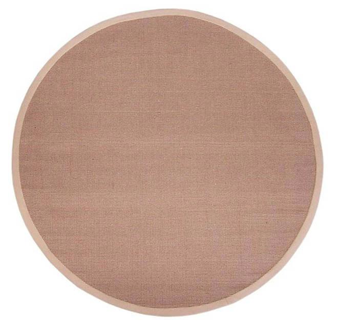 Hand-woven Sisal Beige Rug (8' Round)