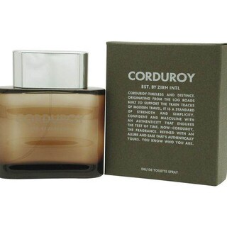 Zirh International Corduroy Men's 4.2-ounce Eau de Toilette Spray