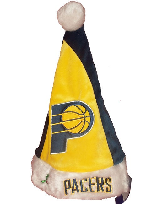 Forever Collectibles Indiana Pacers Colorblock Santa Hat