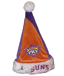 Forever Collectibles Phoenix Suns Colorblock Santa Hat