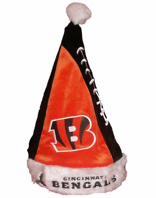 Colorblock Cincinnati Bengals Santa Hat