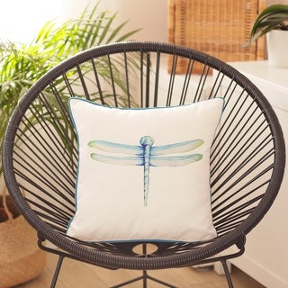 Porch & Den Westcott Dragonfly Throw Pillow Cover