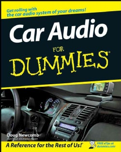 Car Audio For Dummies (Paperback)