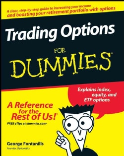 Trading Options For Dummies (Paperback)