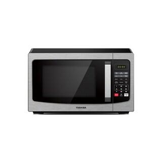 Toshiba EM031M2EC-CHSS 1.1 Cu. Ft. Microwave, Stainless Steel
