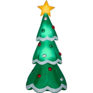 Airblown Inflatables 3 ft. W x 7 ft. H Christmas Tree Ornaments