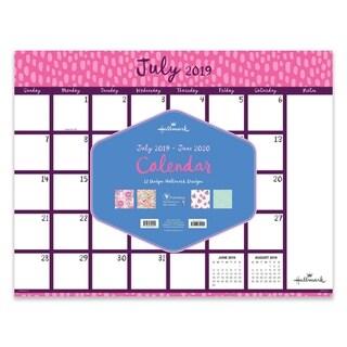 July 2019-June 2020 Academic 22x17 Desk Pad Blotter Calendars