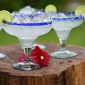 Set of 4 'Transparency' Margarita Cocktail Glasses (Mexico)