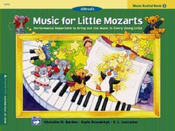 Alfred's Music for Little Mozarts: Music Recital Book 2 (Paperback)