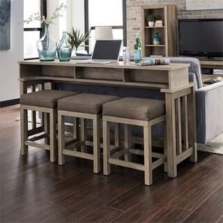 Sun Valley Sandstone 4-piece Table Set