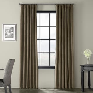 Porch & Den Riesling Velvet Blackout Curtain