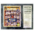 Boston Red Sox 2007 World Champs Plaque
