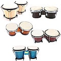 Solid Wood Bongo Drums