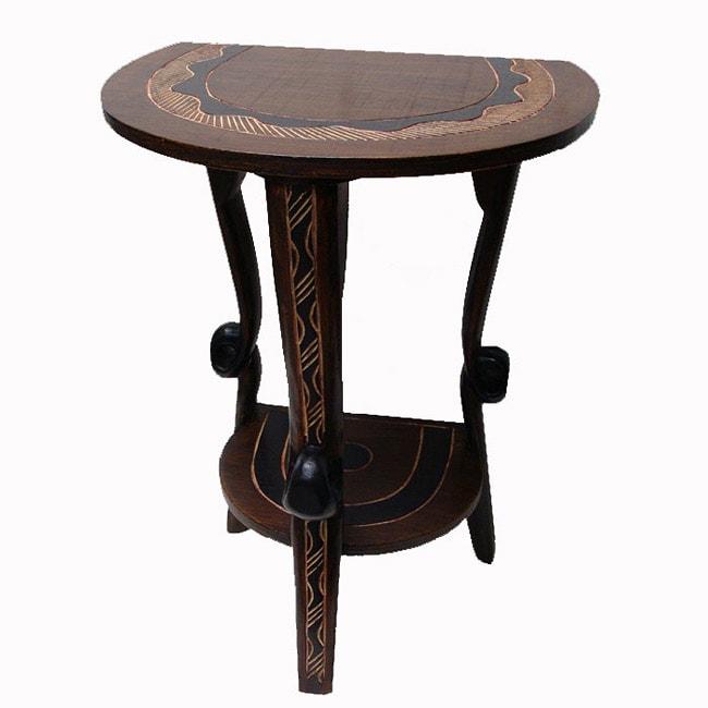 Handmade Wisdom Knot Table (Ghana)