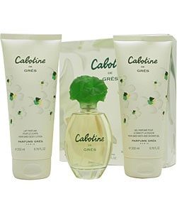 Cabotine by Parfums Gres 3-piece Gift Set for Women