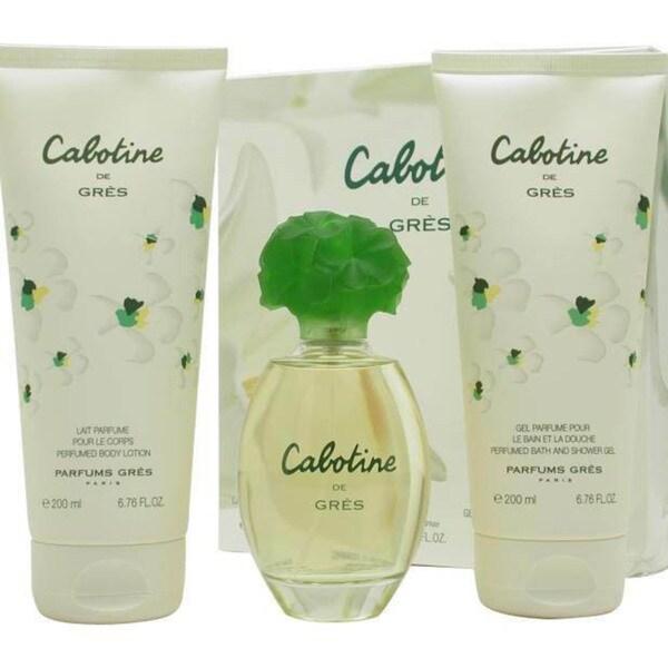 Parfums Gres Cabotine Women's 3-piece Gift Set
