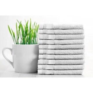"""Adrien Lewis- 10 pk Egyptian Cotton Face Towels - 13""""×13"""""""