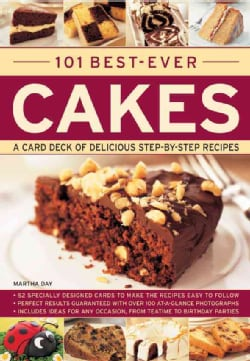 101 Best-Ever Cakes: Special Stand-up Cards to Make the Recipes Easy to Follow (Paperback)