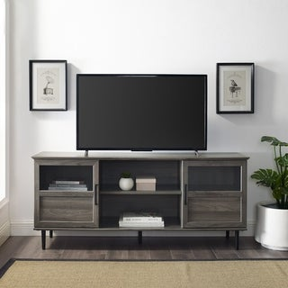Carson Carrington Jularbo 2-door Split Panel TV Console