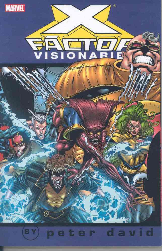 X-Factor Visionaries 4 (Paperback)