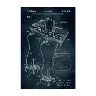 Carbon Loft Atari Video Game Patent Print Unframed Art Print