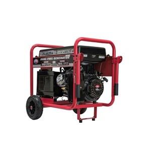 10,000-Watt Dual Propane and Gasoline Powered Electric Start Portable Generator