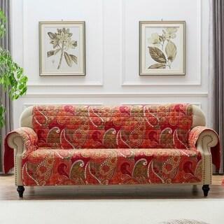Greenland Home Fashions Tivoli Furniture Protector, Cinnamon, Sofa