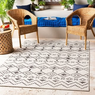 The Curated Nomad Adelaide Indoor/ Outdoor Bohemian Tribal Area Rug