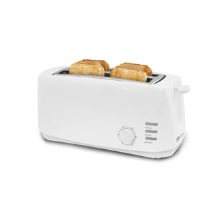 Elite Gourment 4 Slice Long Slot Cool Touch Toaster ECT-4829