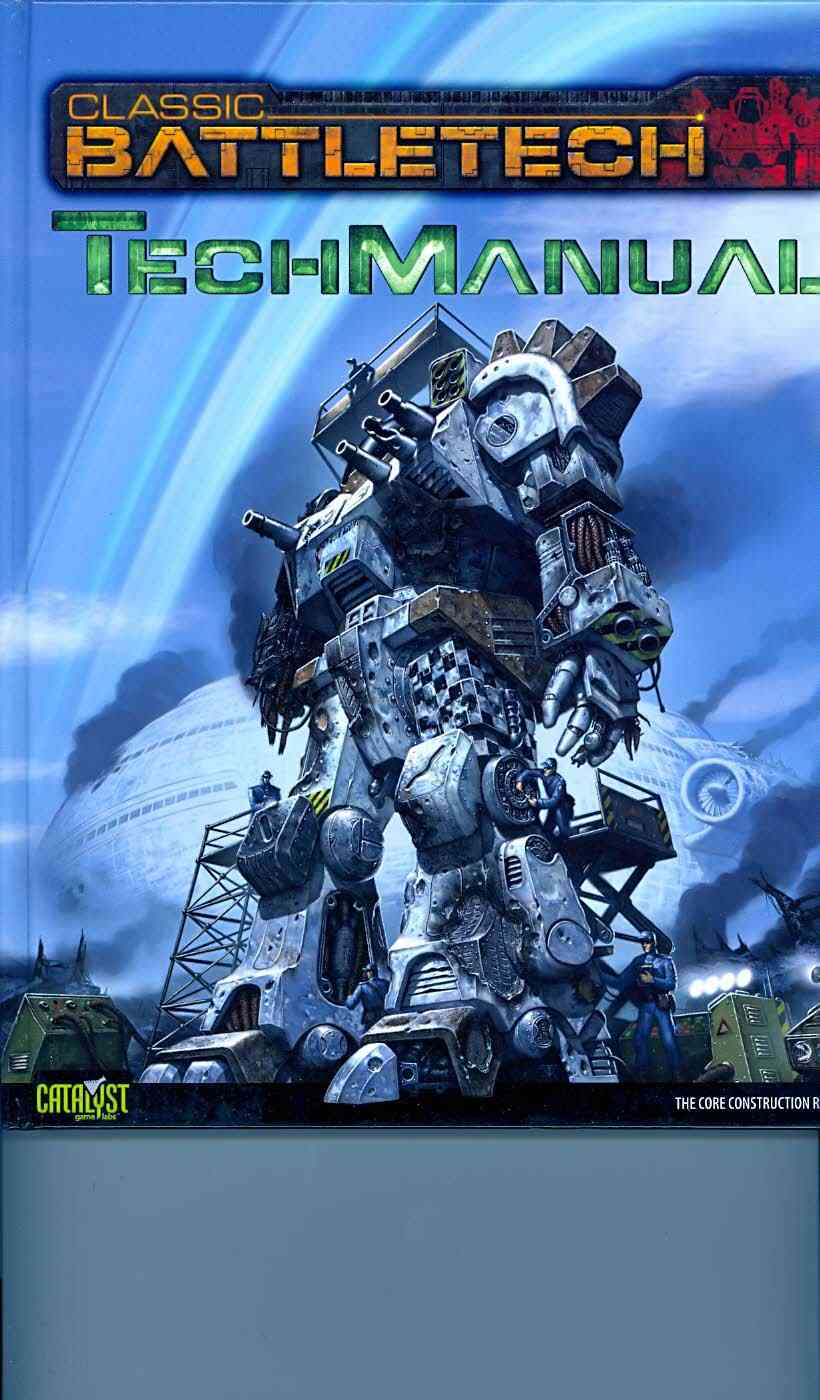Classic Battletech Techmanual (Hardcover)
