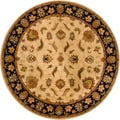 Hand-tufted Transitional Mandara Rug (8' Round)