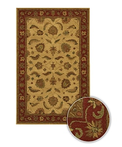 Hand-tufted Transitional Mandara Wool Area Rug (8' x 11')
