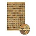 Handmade Mandara Geometric Wool Rug (8' x 11')