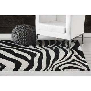 Hand-tufted Adora Contemporary Wool Rug (8' x 11')