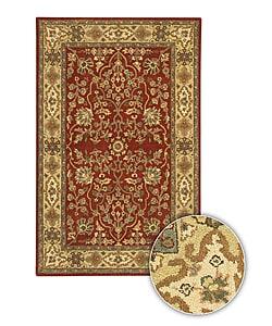 Hand-tufted Traditional Mandara Wool Rug (8' x 11')