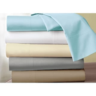 Hotel Grand Solid 1000 Thread Count Cotton Sateen Sheet Set