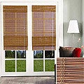 Chicology Epoch Bamboo Adzuki Roman Shade (60 in. x 66 in.)