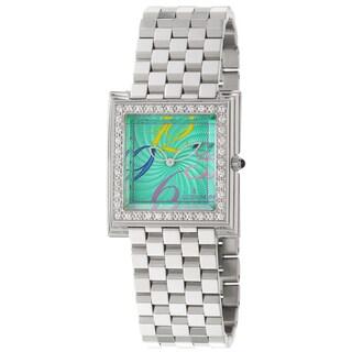 Corum Pyramid Women's Green-Dial Quartz Watch