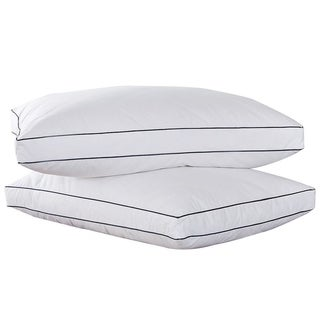 Peace Nest Feather & Down Blend Gusset Pillow (Set of 2)