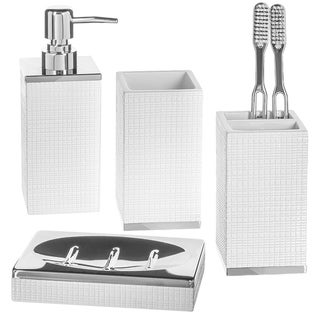 Estella 4 Pcs Bathroom Accessory Set