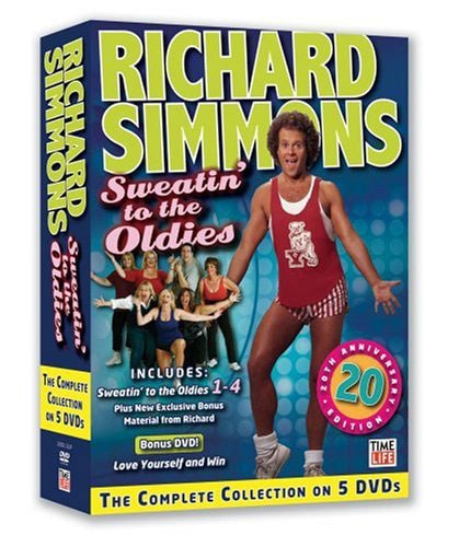 Richard Simmons - Sweatin' To the Oldies Set (DVD)