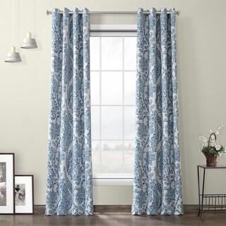 Porch & Den Linette Paisley Grommet Blackout Curtain Panel Pair