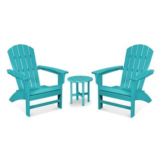 Trex® Outdoor Furniture Yacht Club 3-Piece Adirondack Set